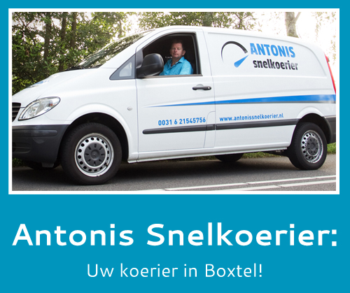 snelkoerier in Boxtel