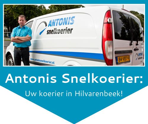 snelkoerier in Hilvarenbeek