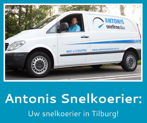 snelkoerier in Tilburg